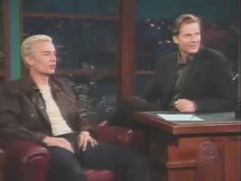 James Marsters on Late Late Show
