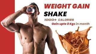 Mass Gainer & Muscle Building Shake (home made)