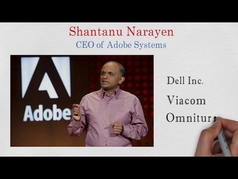SHANTANU NARAYEN : Success Journey  From Hyderabad To Adobe