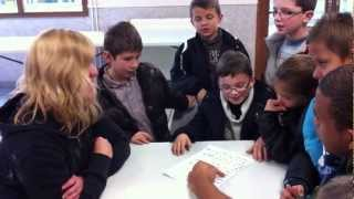 L'Isle-d'Abeau France  City new picture : Artist interview with 7-9 yr children @ Centre Social Michel, L'Isle D'Abeau, France