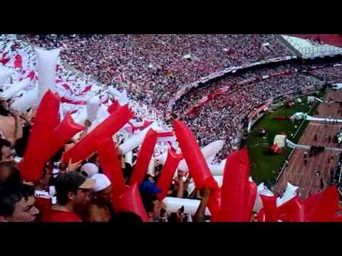 Video - river vs boca - solo le pido a dios!!boca empeza a correr!!ahi viene la 12 de la federal!! - Los Borrachos del Tablón - River Plate - Argentina