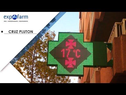Cruz de farmacia Plutón Full Color