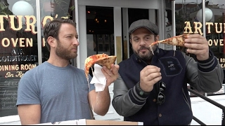 Barstool Pizza Review - Arturos Pizza With Special Guest Adam Richman Of Man Vs Food