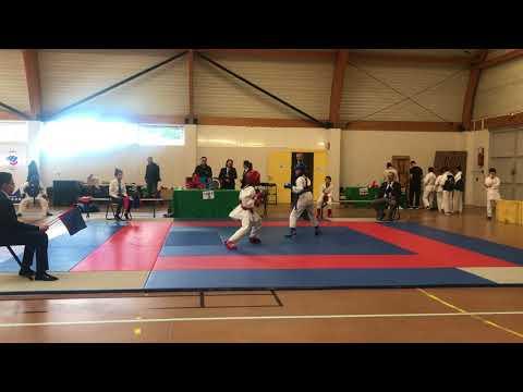 Championnat de la loire Karate - ROMAIN 2