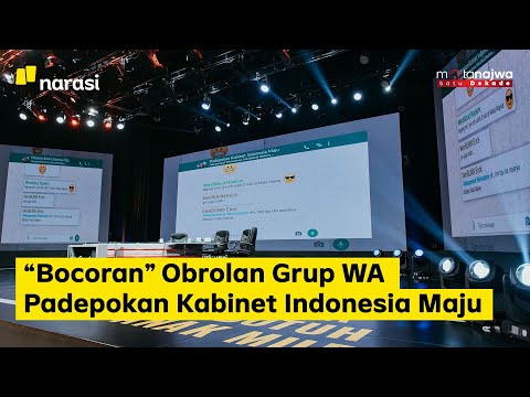 "Kita Bisa Apa: ""Bocoran"" Obrolan Grup WA Padepokan Kabinet Indonesia Maju (Part 6) | Mata Najwa"