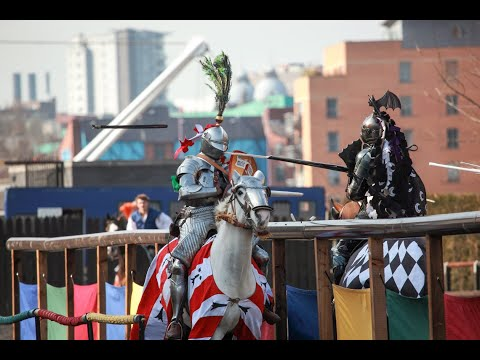No Need For Jousting Knights | Royal Armouries Easter Joust
