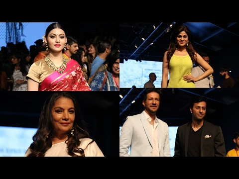 Urvashi Rautela, Shabana Azmi, Salim–Sulaiman And Shamita Shetty As A Special Guest In Lakme Fashion