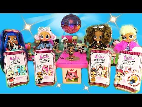 Мультик Куклы ЛОЛ OMG на пикнике в АВТО ДОМИКЕ Сюрпризы Чемоданы LOL S… видео