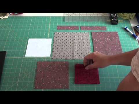 tutorial patchwork - locking in a star shape