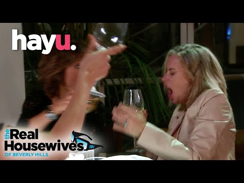 Brandi Throws Wine In Eileen's Face!   The Real Housewives of Beverly Hills