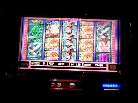 Jason search for the Golden Fleece slot bonus at Sands Casino