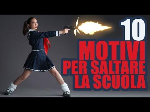 10 motivi per saltare la scuola