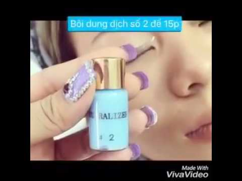 Hướng dẫn sử dụng thuốc uốn mi collagen 3d-6d