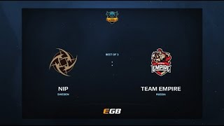 NiP vs Team Empire, Game 1, Dota Summit 7, EU Qualifier