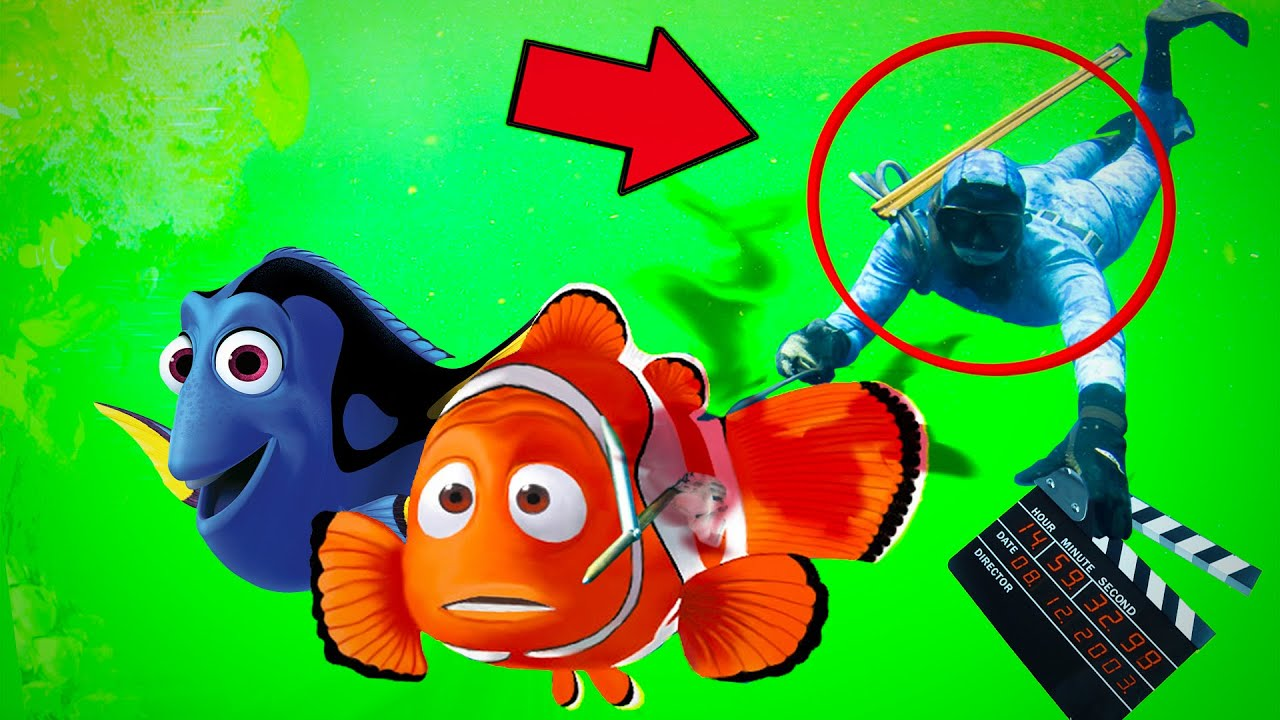 8 segredos nos bastidores de Procurando Nemo