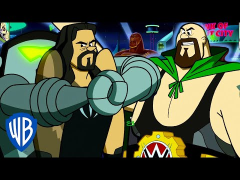 The Jetsons & WWE: Robo-Wrestlemania! | Caught In a Trap | WB Kids