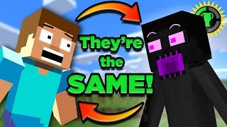 Video Game Theory: The LOST History of Minecraft's Enderman MP3, 3GP, MP4, WEBM, AVI, FLV Juli 2019
