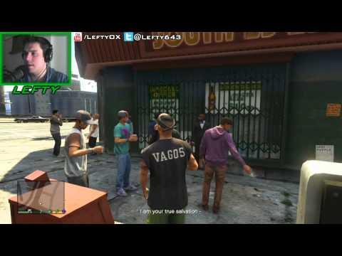 GTA 5 Funny Stuff: Franklin is a Violent Atheist