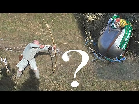 Longbow versus breastplate which will win