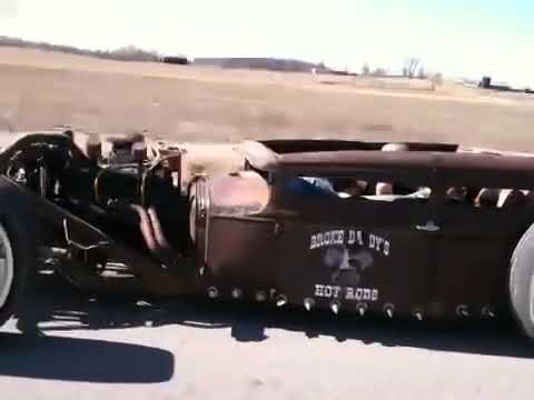 Broke Daddy's Hot Rod's model a first drive