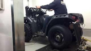 9. 2013 Sportsman XP 850 H.O. Dyno run.