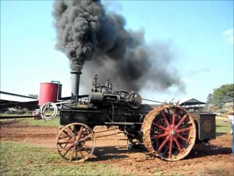 Large Minneapolis Steam Engine @ 2012 Somerset, VA Pasture Party