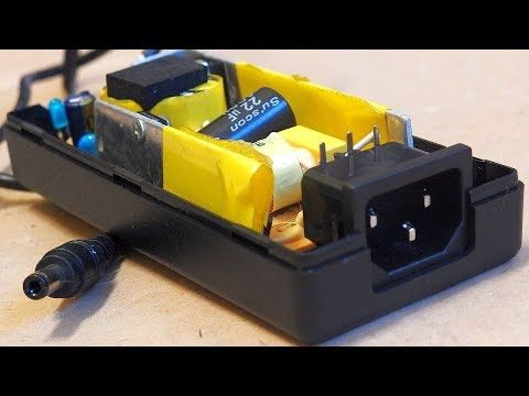 12V 5A LED switching power supply - with schematic
