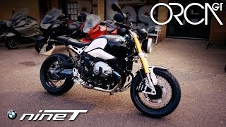 2. 2014 BMW R nineT Test Ride & Review