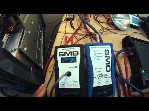 AMP TEST - Kicker ZX750.1 Amp Lab Dyno Test and 1.6 ohm Torture Test
