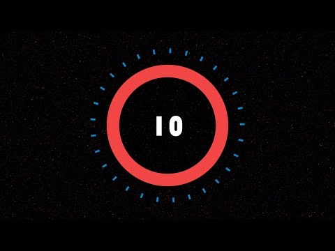 Countdown Timer 10 Sec ( V 450 ) With Sound Effects HD 4k