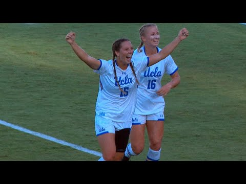 Recap: UCLA W. Soccer Defeats UCSB (8-27-17)