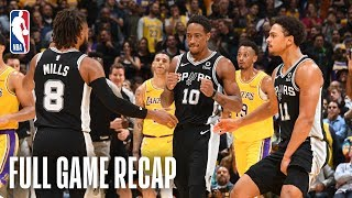 SPURS vs LAKERS | San Antonio & Los Angeles Go Down To The Wire | October 22, 2018 by NBA