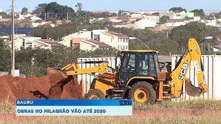 Bauru: reforma no estádio Milagrão tem início e deve seguir até 2020
