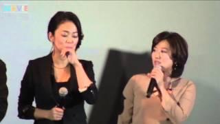 中島知子、美奈子、Raychell、森岡利行監督/『ハダカの美奈子』完成披露試写会
