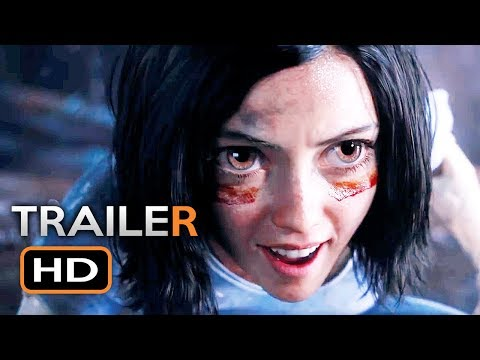 ALITA: BATTLE ANGEL Official Trailer 2 (2018) James Cameron Sci-Fi Action Movie HD