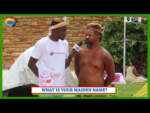 What's Your MAIDEN NAME? | Street Quiz South Africa | Street Quiz Mzansi | Funny African Videos