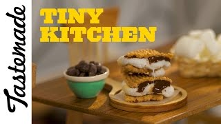 Tiny S'mores l Tiny Kitchen by Tastemade