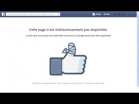 comment débloquer sur facebook