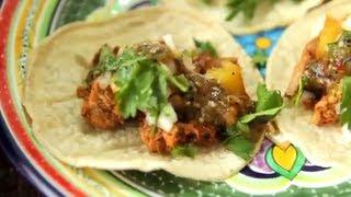 Tacos al pastor (au porc)