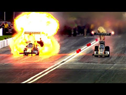 2018 NHRA GATORNATIONALS! | TOP FUEL & FUNNY CAR ELIMINATIONS
