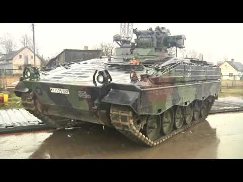 Kampfpanzer fehlen: Ist die Bundeswehr stark genug für  ...