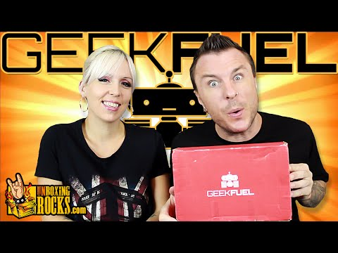 GEEK FUEL : June, 2015  (90s Takeover) Unboxing Review
