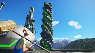 Largest Tower In My Park :: Planet Coaster