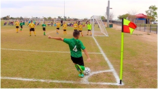 Damian's Intense Soccer Match  (Spidey's vs. Panthers)