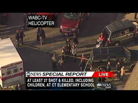 Follow the story: 20 year old shoots 20 school children dead in the US