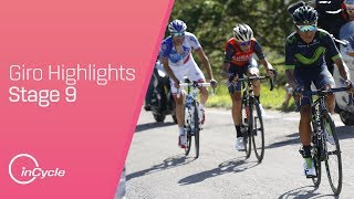 Highlights of stage nine of the Giro d'Italia.