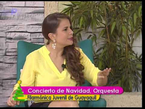Ser Mejores: Concierto de navidad, orquesta filarmónica juvenil de Guayaquil