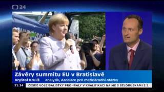 Závěry summitu EU v Bratislavě