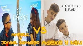 Video Angelic & Jonael Santiago vs Adexe y Nau | El Perdon (Cover) MP3, 3GP, MP4, WEBM, AVI, FLV September 2018