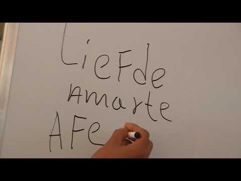 palabras de amor holandes espanol